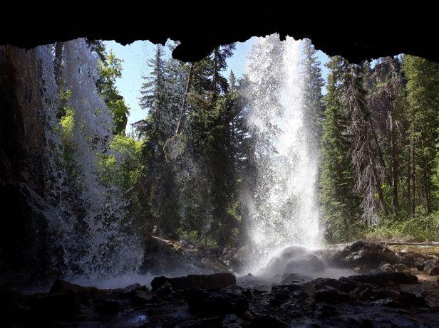 Waterfall at Hanging Rock, Colorado