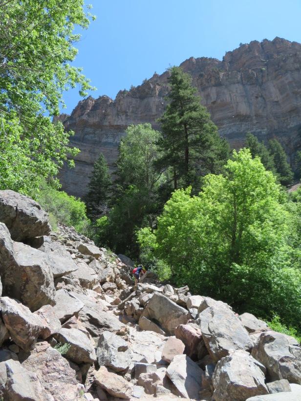 Hanging Lake Trail Colorado